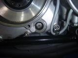 まっきーレーサー号乾式クラッチオイルポッド窓交換 (1)