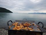 奥琵琶湖でBBQ (3)