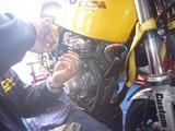 CP1号レーサーシェイクダウン準備ワイヤリング