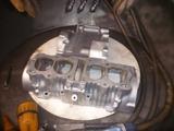 ジャイアン号エンジンブラスト塗装準備 (1)