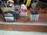 枚方T様Z750RS継続車検バッテリー充電 (1)