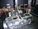 6号機用エンジン製作開始 (2)