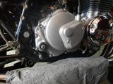 高槻O様CB400クラッチ、ミッション系不具合調査210920 (2)