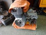 CB400F国内408ccCP20号機エンジン仕上げヘッドカバー搭載 (6)