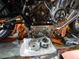 沖縄A様CB400エンジン仕上げR側210807 (1)