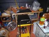 油圧リフト付き昇降台車