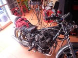 XJ400Dエンジン始動 (2)
