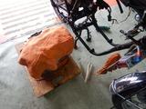 沖縄A様CB400エンジン搭載準備210801 (8)