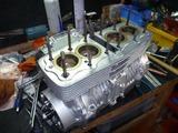 4号機エンジン腰中組立て (3)