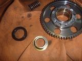 1号機乾式クラッチオイル漏れ修理2回目160818 (5)