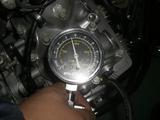 圧縮圧力チェック (3)