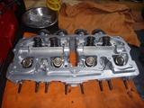 1号機内燃機加工から仕上がりからの組立て (2)