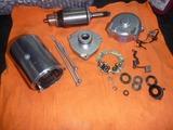 レーサーエンジン用セルモーター組立て (1)