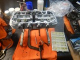まっきーレーサーエンジン腰上下拵え180807 (5)