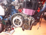 CB250Nエンジン搭載仕上げ (1)