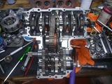 1号レーサーエンジン組立て (2)