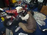 カスタムモンキーエンジン修理完了 (1)