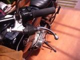 SR400クラッチレバー修正