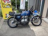 CB400F京都GTH号タイヤ、オイル交換 (1)