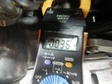 半袖一家Y様CB400F発電、充電チェック (6)
