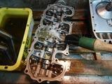 沖縄A様CB400用シリンダーヘッドカバー洗浄210729 (1)