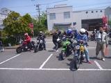 2014徳島絶版バイクミーティング  半袖一家御一行