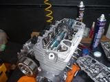 CPレーサーエンジン3腰上組立て (5)