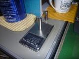 1号機用57mmピストン重量測定 (1)