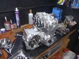 9号機エンジン復旧 (1)