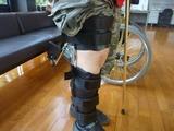 右足装具完成 (2)