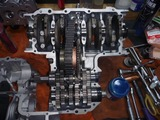 銀ちゃんニューレーサー用エンジン腰下組立て (1)