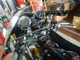 CB350Rカウルアッパー側ステー製作 (6)