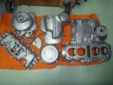 ジャイアン号エンジンブラスト塗装準備 (7)