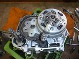M型モンキーエンジン組立て (4)