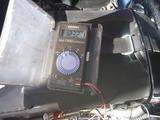 コムアキ号発電充電系チェック (3)