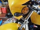 CB350FCP24号機元レーサー号登録試運転準備210906 (3)
