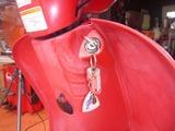 紛失したバイクのカギを作る (1)