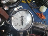 黄色い君レーサー用エンジン実圧縮圧力測定 (2)