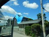 台風12号到来後