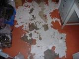 事務所の床
