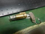 枚方K号ハンドルロックキー製作取付け (1)