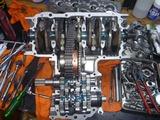 CPレーサーエンジン3腰下組立て (1)
