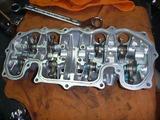 4号機エンジン腰中組立て (4)