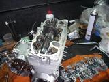 398改458エンジン組立て搭載 (7)