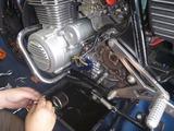 8号機旧型強化オイルポンプから新型に交換 (2)
