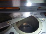 CPレーサー2号機用シリンダーとヘッド計測 (1)