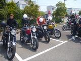 2014徳島絶版バイクミーティング  teiku御一行