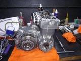 ベホリレーサーエンジン復旧作業 (11)