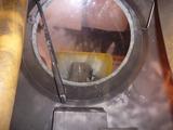ウエットブラストガラス掃除 (2)