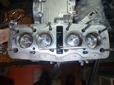 レーサーエンジン腰上組立て (3)
